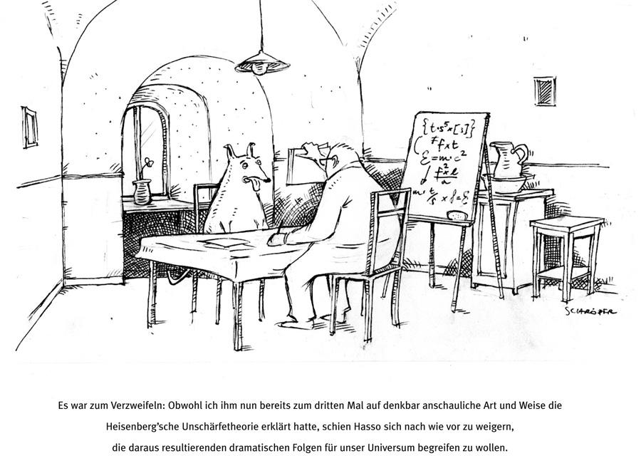 Hund-Cartoon