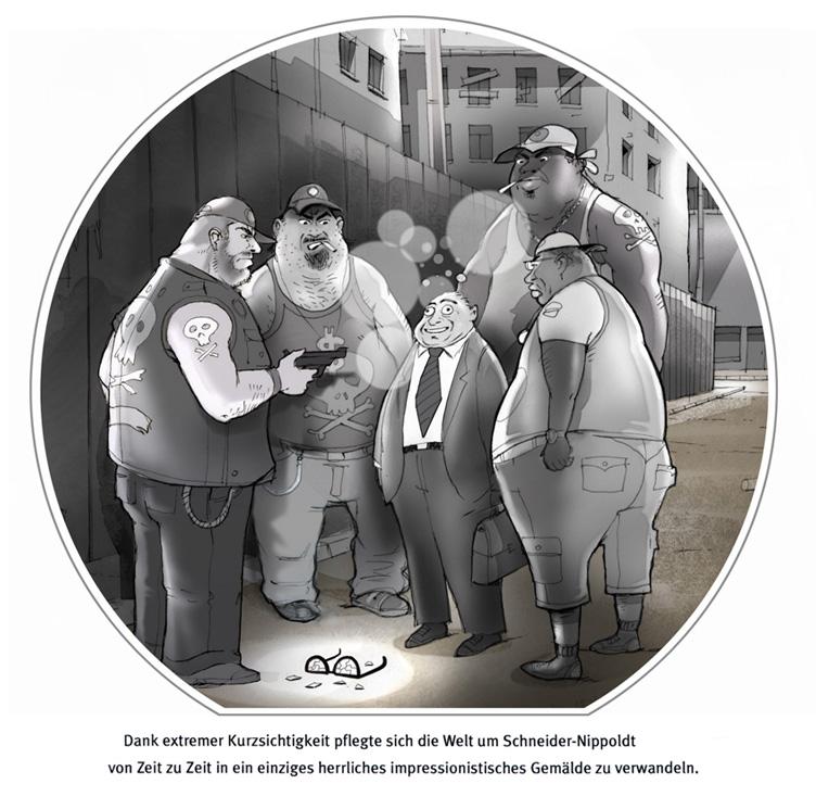 Gang-Cartoon