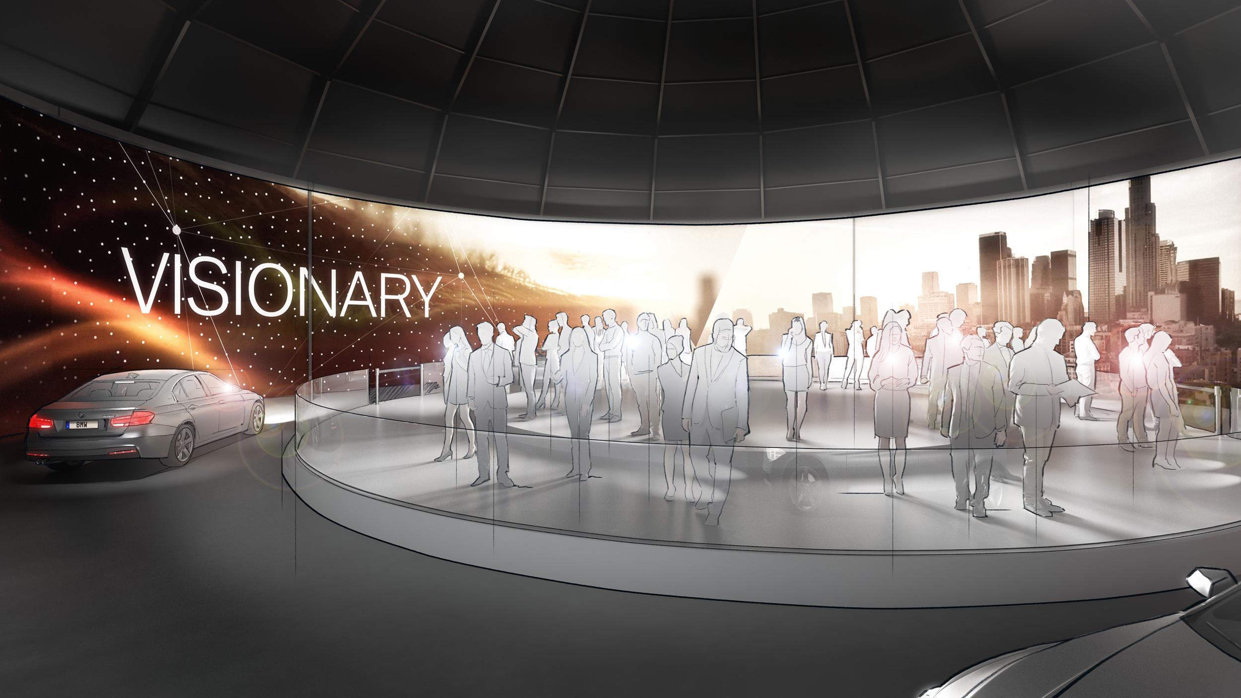 Event-Konzept für BMW-Event